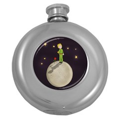 The Little Prince Round Hip Flask (5 Oz) by Valentinaart