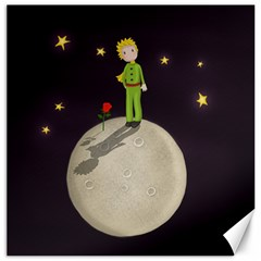 The Little Prince Canvas 20  X 20   by Valentinaart