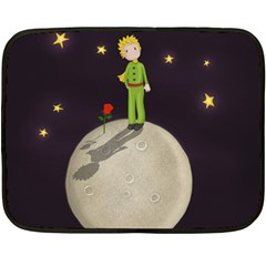 The Little Prince Fleece Blanket (mini) by Valentinaart