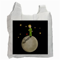 The Little Prince Recycle Bag (one Side) by Valentinaart