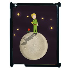 The Little Prince Apple Ipad 2 Case (black) by Valentinaart
