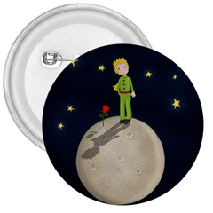 The Little Prince 3  Buttons by Valentinaart