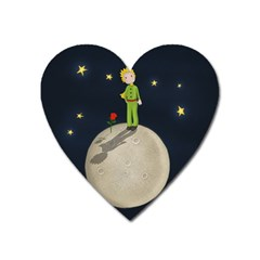 The Little Prince Heart Magnet