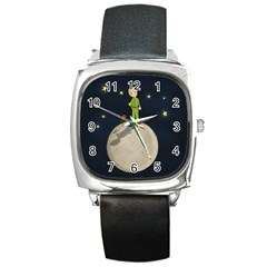 The Little Prince Square Metal Watch
