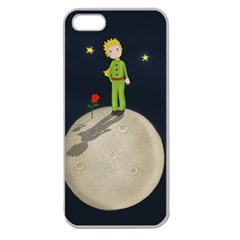 The Little Prince Apple Seamless Iphone 5 Case (clear)