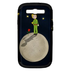 The Little Prince Samsung Galaxy S Iii Hardshell Case (pc+silicone) by Valentinaart