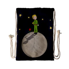 The Little Prince Drawstring Bag (small) by Valentinaart