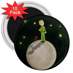 The Little Prince 3  Magnets (10 Pack)  by Valentinaart