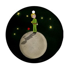 The Little Prince Ornament (round) by Valentinaart