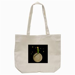 The Little Prince Tote Bag (cream) by Valentinaart