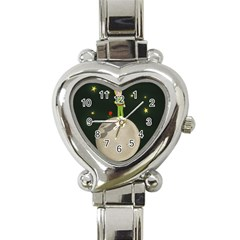 The Little Prince Heart Italian Charm Watch by Valentinaart