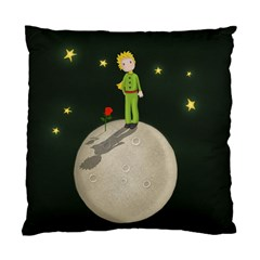 The Little Prince Standard Cushion Case (two Sides) by Valentinaart