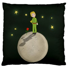 The Little Prince Standard Flano Cushion Case (two Sides) by Valentinaart