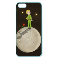 The Little Prince Apple Seamless Iphone 5 Case (color) by Valentinaart