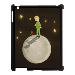 The Little Prince Apple Ipad 3/4 Case (black) by Valentinaart