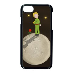 The Little Prince Apple Iphone 8 Seamless Case (black) by Valentinaart