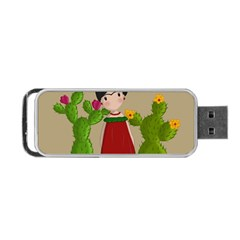 Frida Kahlo Doll Portable Usb Flash (two Sides)