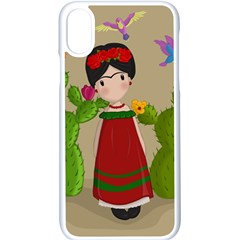 Frida Kahlo Doll Apple Iphone X Seamless Case (white)