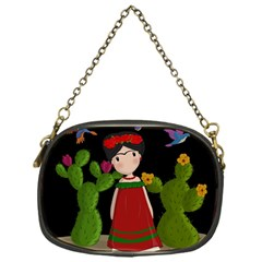 Frida Kahlo Doll Chain Purses (one Side)
