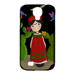 Frida Kahlo Doll Samsung Galaxy S4 Classic Hardshell Case (pc+silicone) by Valentinaart