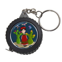 Frida Kahlo Doll Measuring Tape by Valentinaart