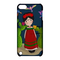 Frida Kahlo Doll Apple Ipod Touch 5 Hardshell Case With Stand by Valentinaart