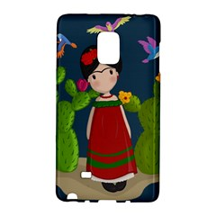 Frida Kahlo Doll Galaxy Note Edge by Valentinaart