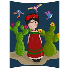 Frida Kahlo Doll Back Support Cushion by Valentinaart