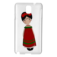 Frida Kahlo Doll Samsung Galaxy Note 3 N9005 Hardshell Case by Valentinaart
