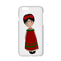 Frida Kahlo Doll Apple Iphone 6/6s Hardshell Case by Valentinaart