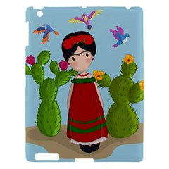 Frida Kahlo Doll Apple Ipad 3/4 Hardshell Case by Valentinaart
