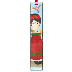 Frida Kahlo Doll Large Book Marks by Valentinaart