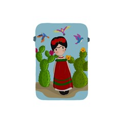Frida Kahlo Doll Apple Ipad Mini Protective Soft Cases by Valentinaart