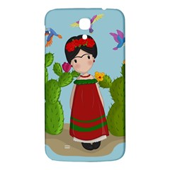 Frida Kahlo Doll Samsung Galaxy Mega I9200 Hardshell Back Case by Valentinaart