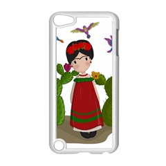 Frida Kahlo Doll Apple Ipod Touch 5 Case (white) by Valentinaart