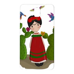 Frida Kahlo Doll Samsung Galaxy Note 3 N9005 Hardshell Back Case by Valentinaart