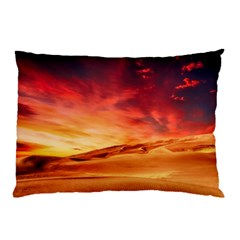 Desert Sand Dune Landscape Nature Pillow Case (two Sides)