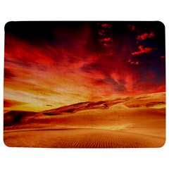 Desert Sand Dune Landscape Nature Jigsaw Puzzle Photo Stand (rectangular) by Celenk