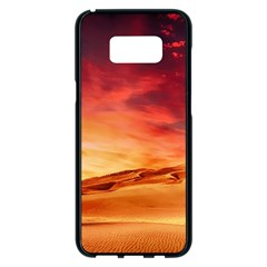 Desert Sand Dune Landscape Nature Samsung Galaxy S8 Plus Black Seamless Case