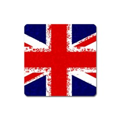 Union Jack London Flag Uk Square Magnet
