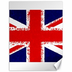 Union Jack London Flag Uk Canvas 18  X 24   by Celenk