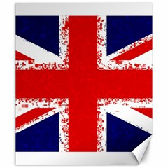 Union Jack London Flag Uk Canvas 20  X 24