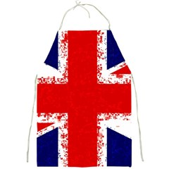 Union Jack London Flag Uk Full Print Aprons by Celenk