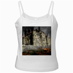 Castle Ruin Attack Destruction Ladies Camisoles