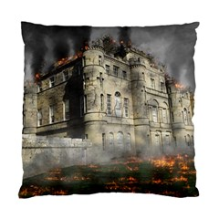 Castle Ruin Attack Destruction Standard Cushion Case (two Sides)