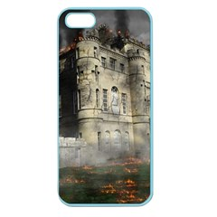 Castle Ruin Attack Destruction Apple Seamless Iphone 5 Case (color)