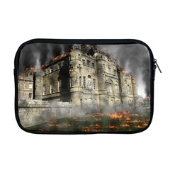 Castle Ruin Attack Destruction Apple Macbook Pro 17  Zipper Case