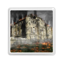 Castle Ruin Attack Destruction Memory Card Reader (square)