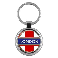 London England Key Chains (round)  by Celenk