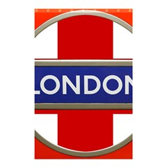 London England Shower Curtain 48  X 72  (small)  by Celenk